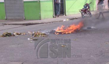 Huelga en Capotillo por la falta de electricidad y otras reivindicaciones