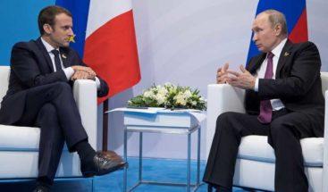Macron quiere