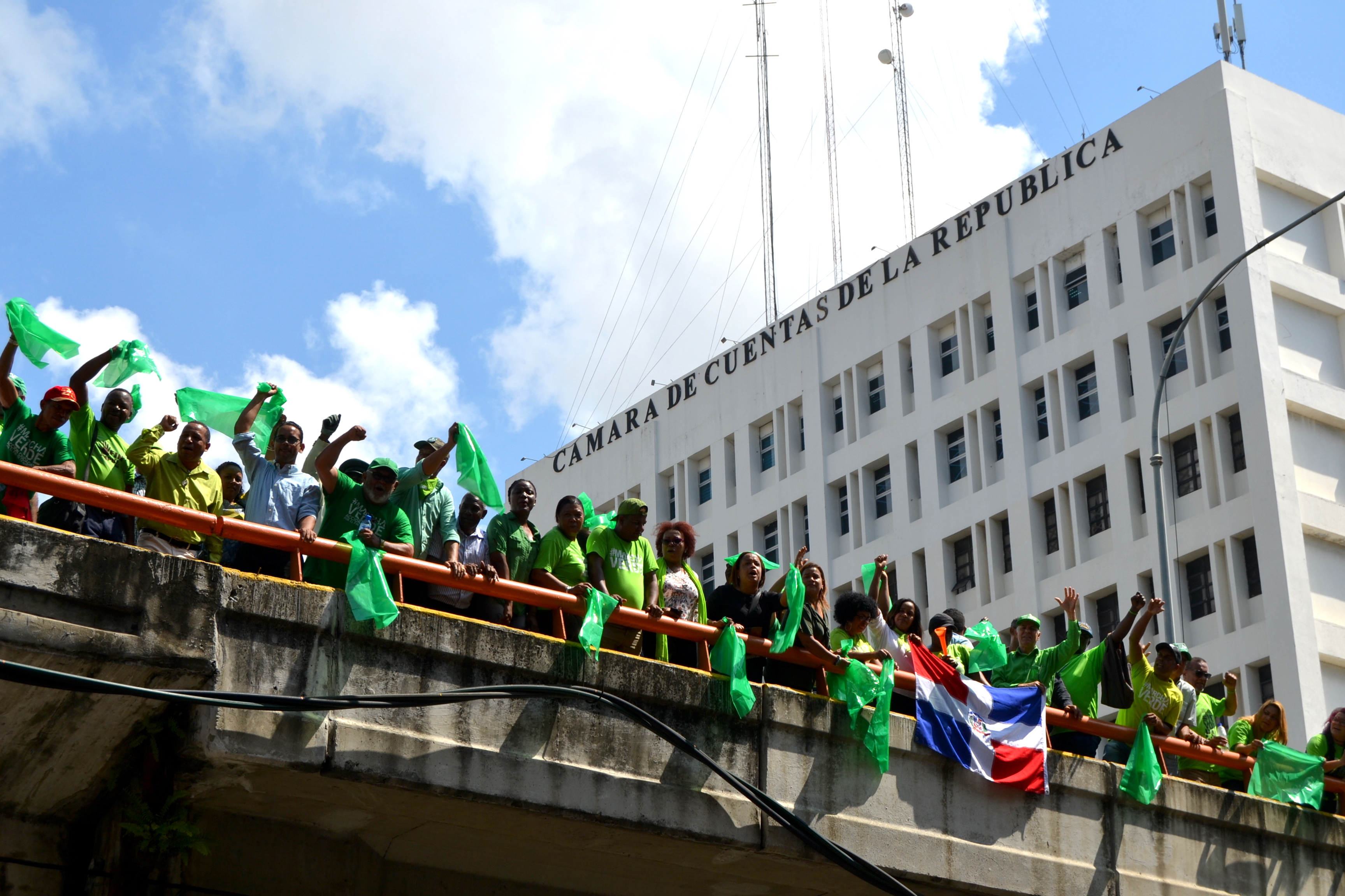 Marcha Verde declara ilegítimos a miembros de la Cámara de Cuentas