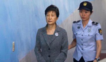 Condenada a 24 años de cárcel la expresidenta de Corea del Sur