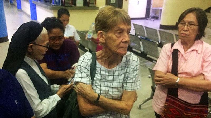 Filipinas arresta a monja de 71 años por participar en actos políticos