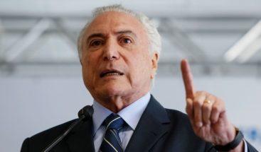 Temer avanza en reforma de gabinete forzada por elecciones en Brasil