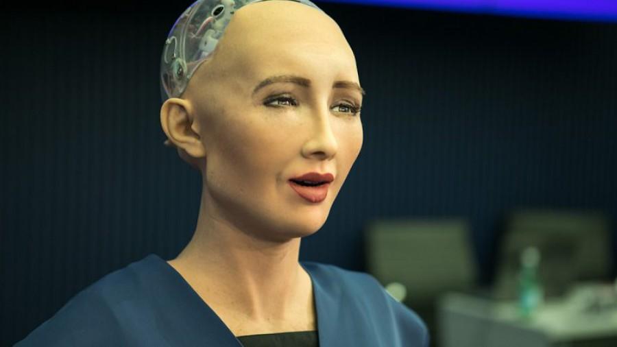 Robot Sophia: El espíritu humano es