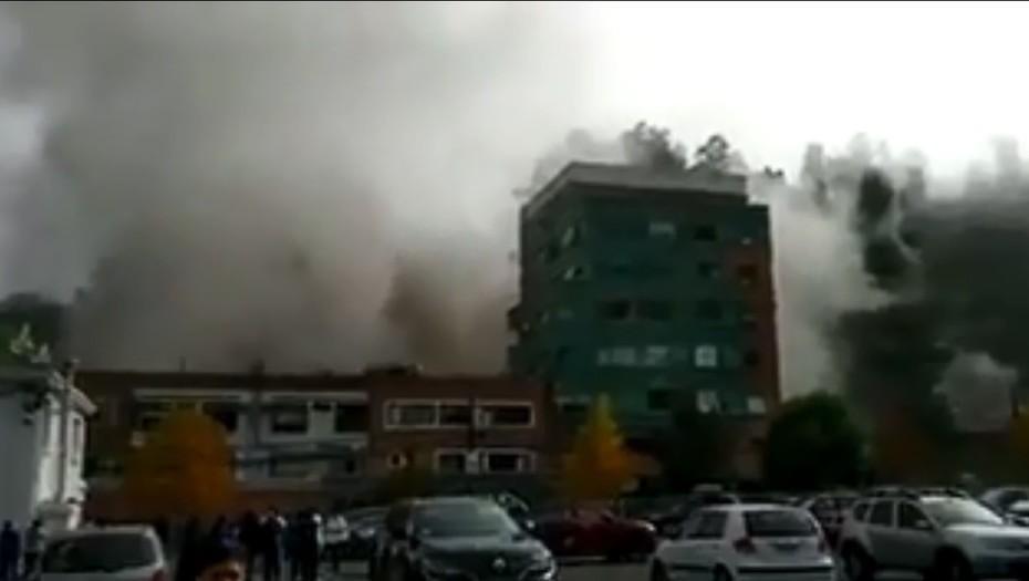 Tres muertos y 46 heridos por una explosión de gas en una clínica de Chile