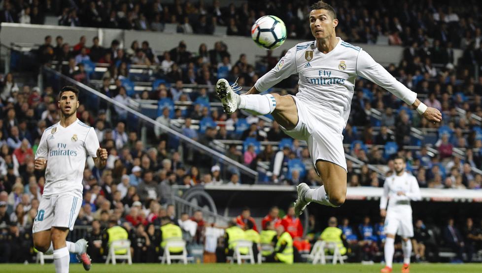 Cristiano salva al Real Madrid con 10mo partido consecutivo marcando