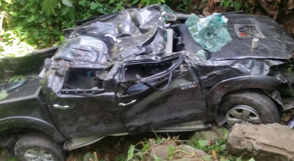 Cinco personas mueren en accidente en carretera El Abanico-Constanza