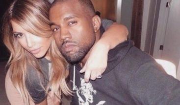 Foto de Kim Kardashian y West demuestra que son el uno para el otro