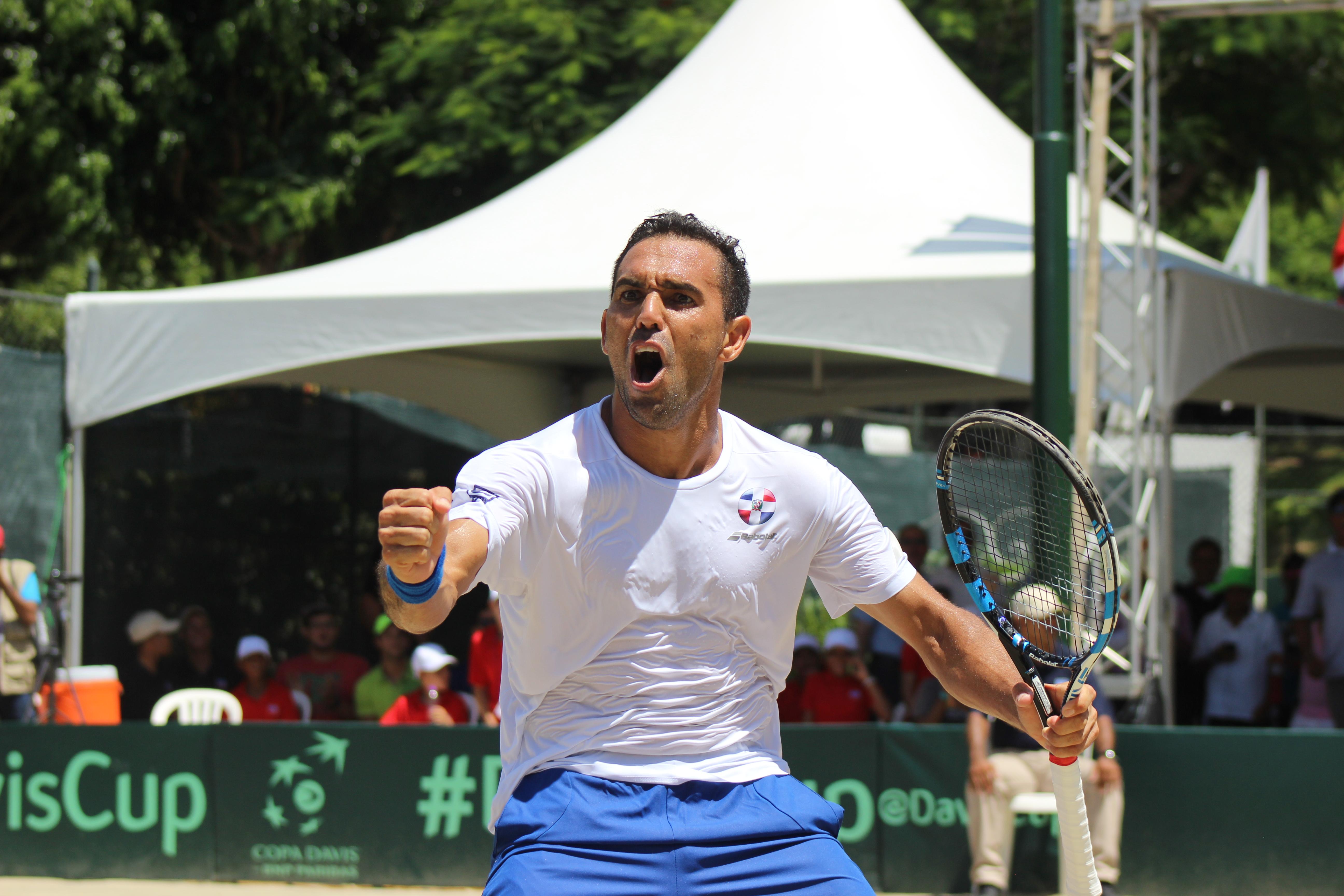 RD lista para enfrentar a Barbados en Copa Davis 6 y 7 de abril