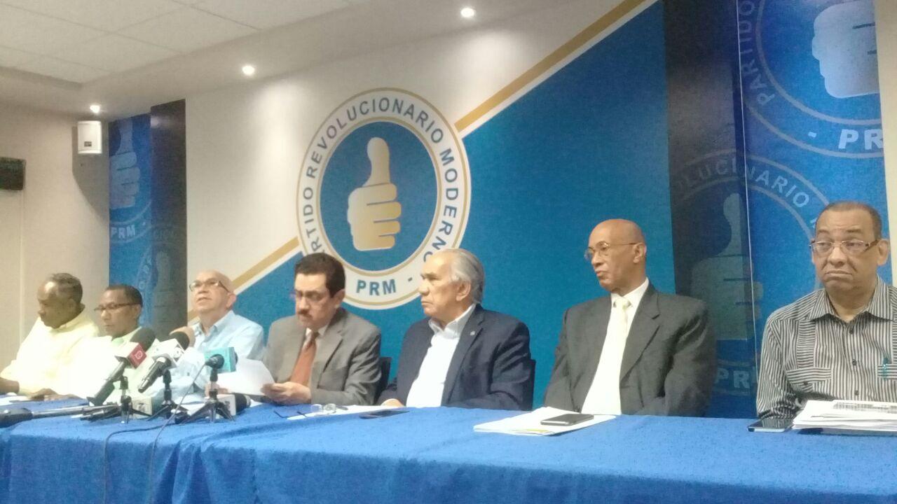 COC de PRM ofrece primer boletín de las elecciones completivas