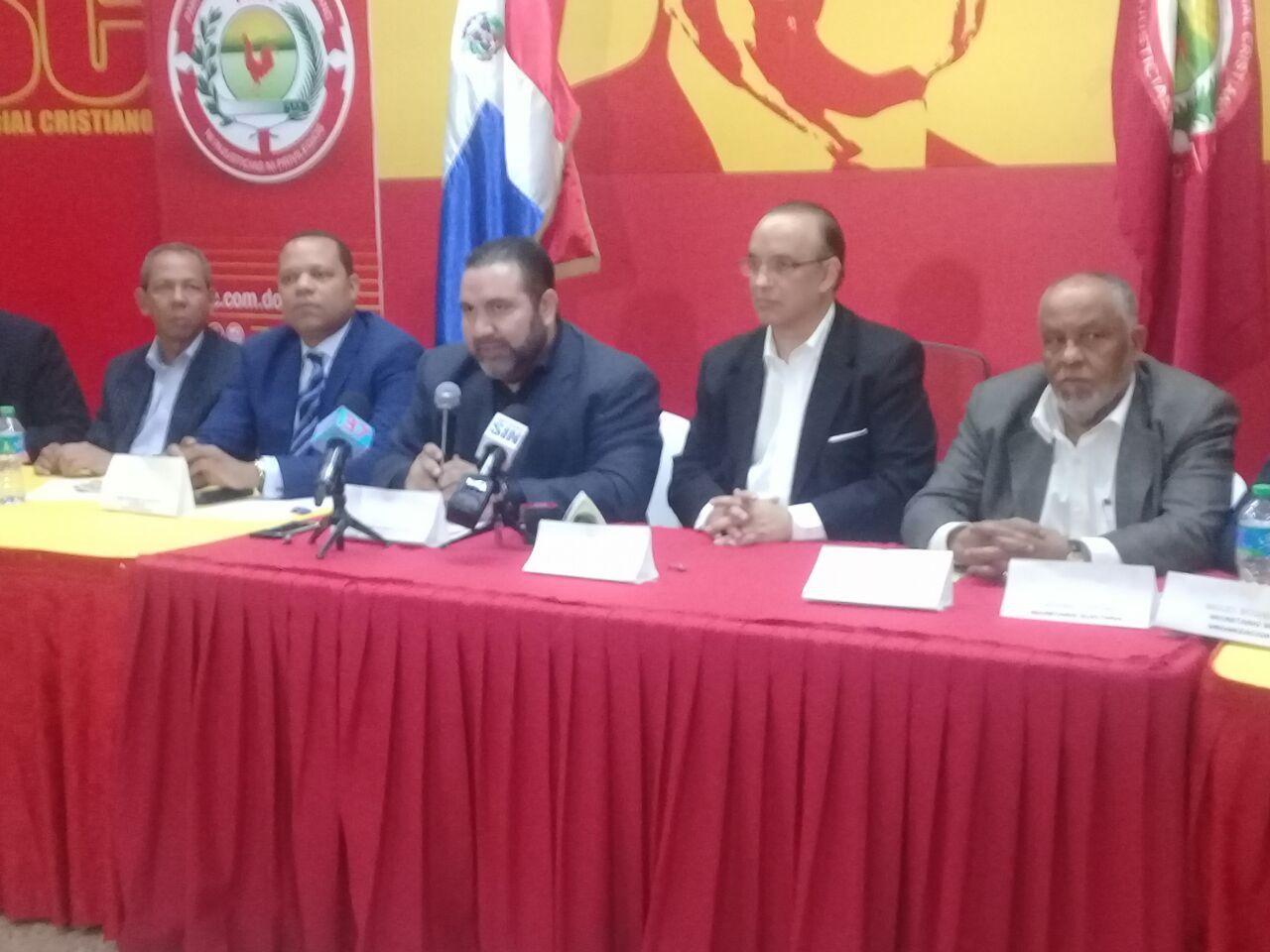 PRSC instruye a sus diputados que rechacen proyecto de ley de partidos
