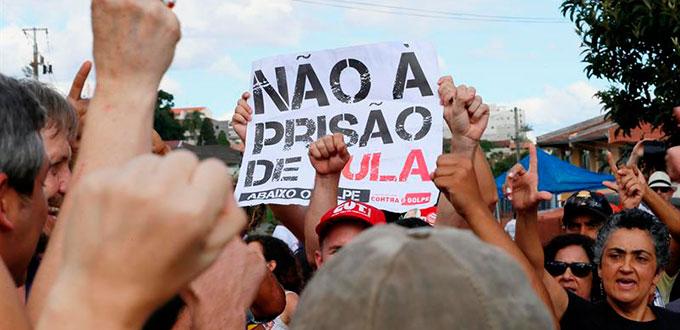 Ataque a tiros a campamento pro-Lula deja heridos y eleva tensión