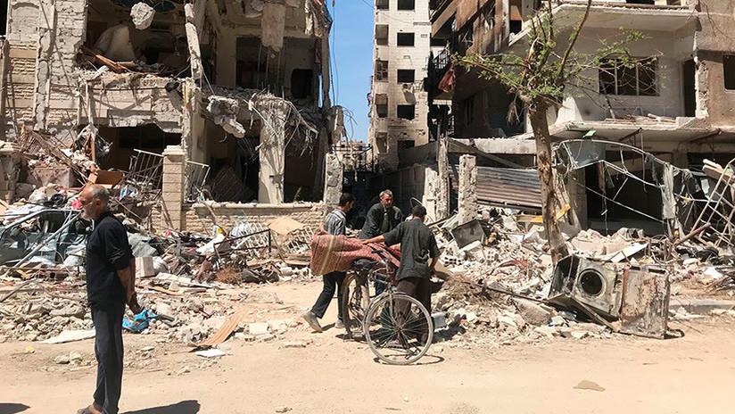 Explican por qué Occidente atacó a Siria