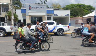 PN investiga quiénes asaltaron sucursal de banco en Tamboril