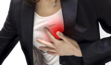 Mujeres sufren infartos más tarde que hombres y se rehabilitan menos