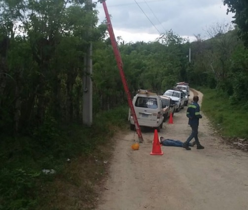 Reparar una avería eléctrica le costó la vida a un empleado de Edenorte