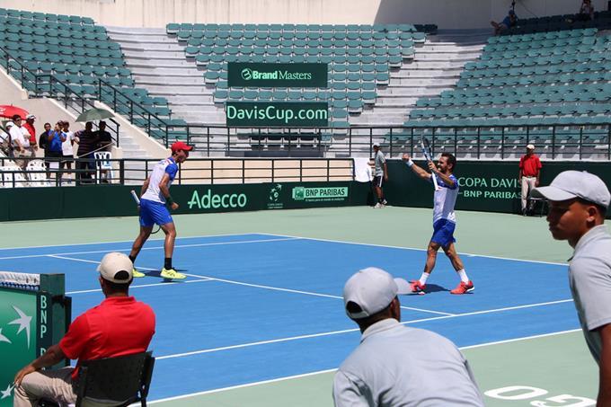 Estrella y Cid dan triunfo a RD en Copa Davis de Tenis