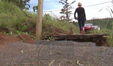 Varias familias incomunicadas a más de siete meses del huracan María