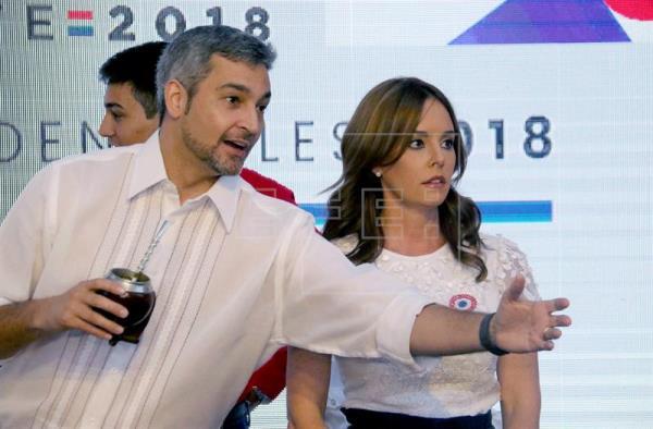 Abdo Benítez lidera con 48,48%, escrutado 11,25% en presidenciales paraguayas