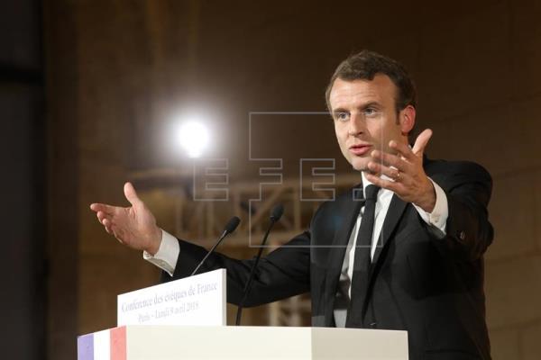 Macron: No podemos tolerar la banalización del uso de armas químicas