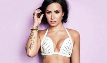 Las impactantes fotos de Demi Lovato: mostró sus estrías y celulitis
