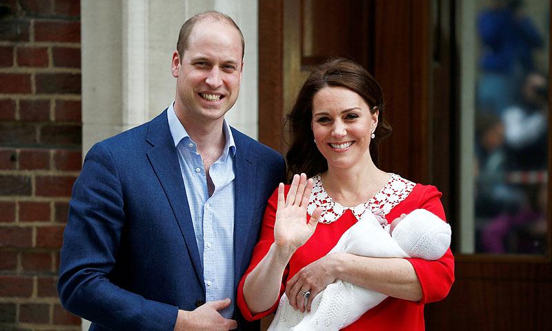 Nace el tercer hijo de los duques de Cambridge, quinto heredero al trono