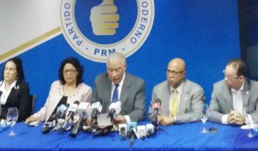 PRM reitera su posición con respecto a la ley de partidos