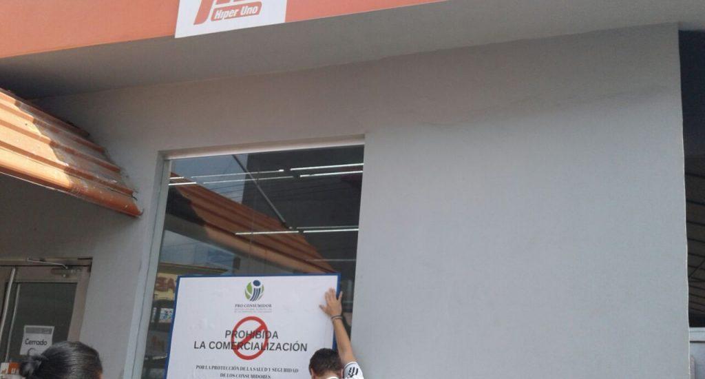 Pro Consumidor interviene Híper Uno de Villa Consuelo