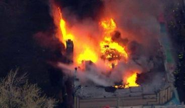 Incendio afecta varios locales en el Bronx