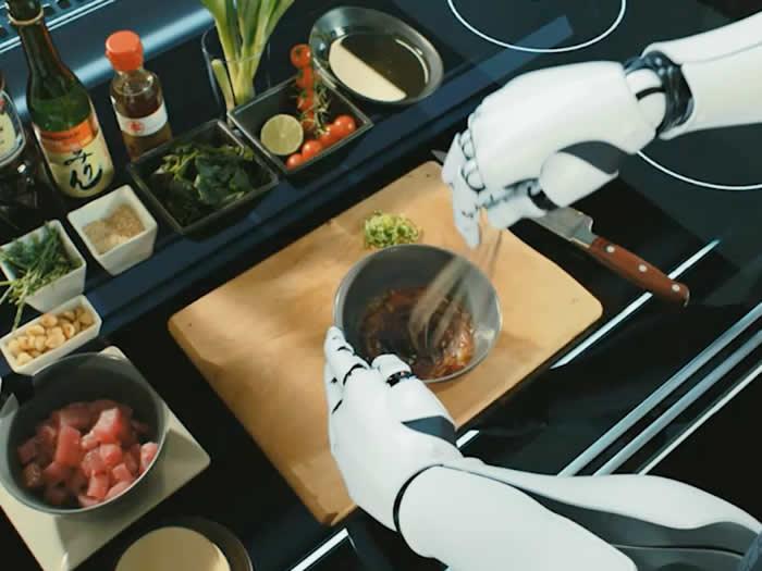 Sony trabaja en el desarrollo de un robot de uso doméstico capaz de cocinar