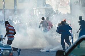 Un muerto en manifestación contra el Gobierno y la corrupción en Haití