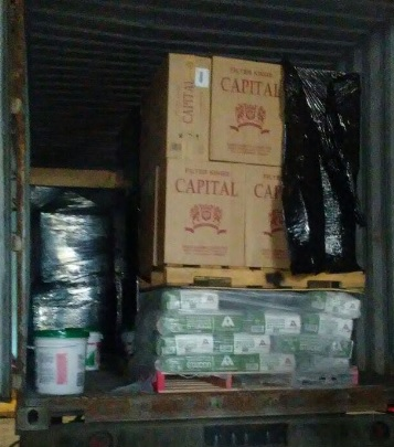 Aduana se incauta de otro gran cargamento de cigarrillos