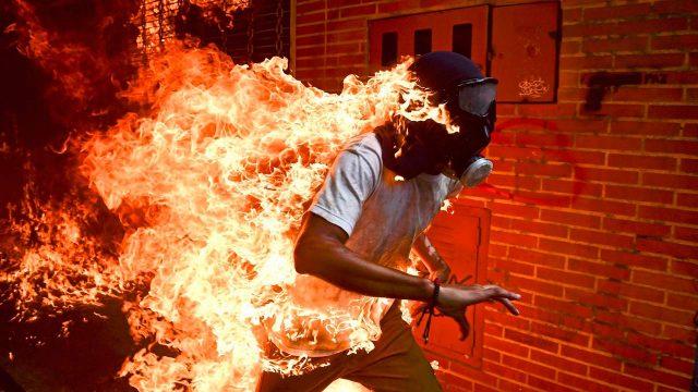 Foto de protestas en Venezuela gana el World Press Photo 2018
