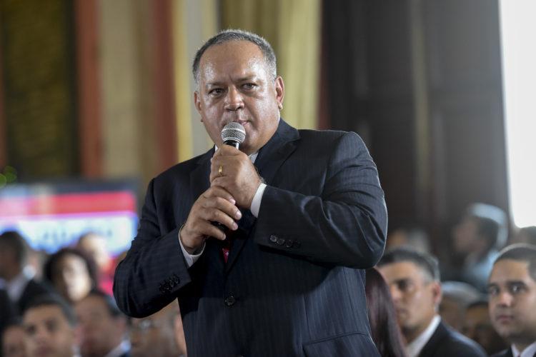 EE.UU. impone sanciones contra el dirigente venezolano Diosdado Cabello