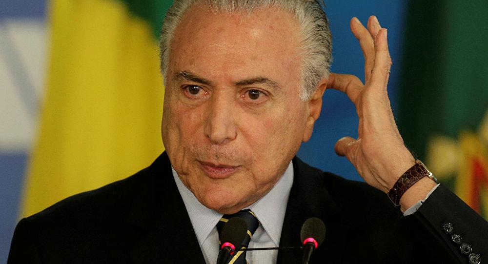 Temer completa dos años como el más impopular de los presidentes de Brasil