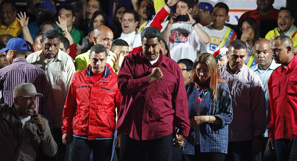 Observadores reconocen reelección de Maduro y EEUU endurece sus sanciones
