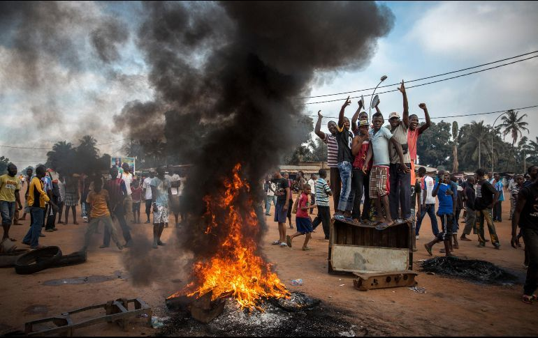Al menos 12 muertos en enfrentamientos en la capital de R. Centroafricana