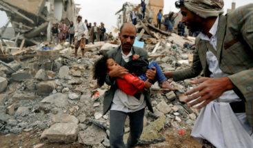 Nueve muertos en ataques de la coalición árabe en el Yemen, según rebeldes