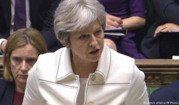 May pide a los británicos que confíen en ella para lograr un buen