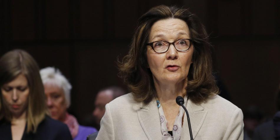 Senado de EEUU confirma a Gina Haspel como primera mujer para dirigir la CIA