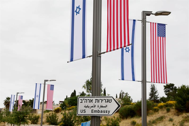 EEUU traslada embajada a Jerusalén, en el 70º aniversario creación de Israel