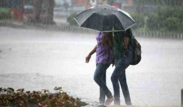 Paso de onda tropical provocará aguaceros y tormentas eléctricas