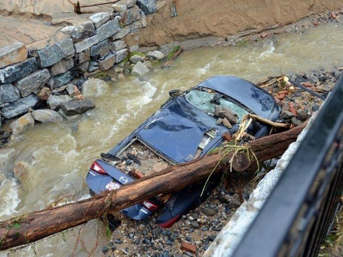Hallan muerto al guarda nacional desaparecido en las inundaciones de Maryland