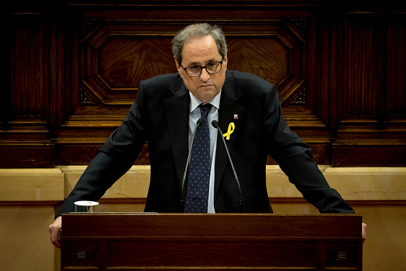 El independentista Joaquim Torra, elegido presidente regional de Cataluña
