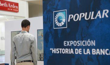 """La exposición """"Historia de la banca"""" estará en Galería 360 hasta el 27 de mayo"""