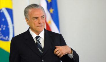 Corte Suprema de Brasil autoriza nueva investigación contra partido de Temer