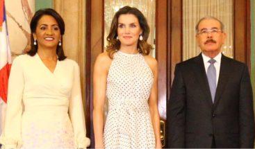 RD agradece a la reina Letizia la solidaridad de la cooperación española