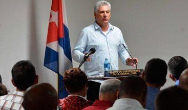 Díaz-Canel repasa con ministros los principales problemas económicos de Cuba