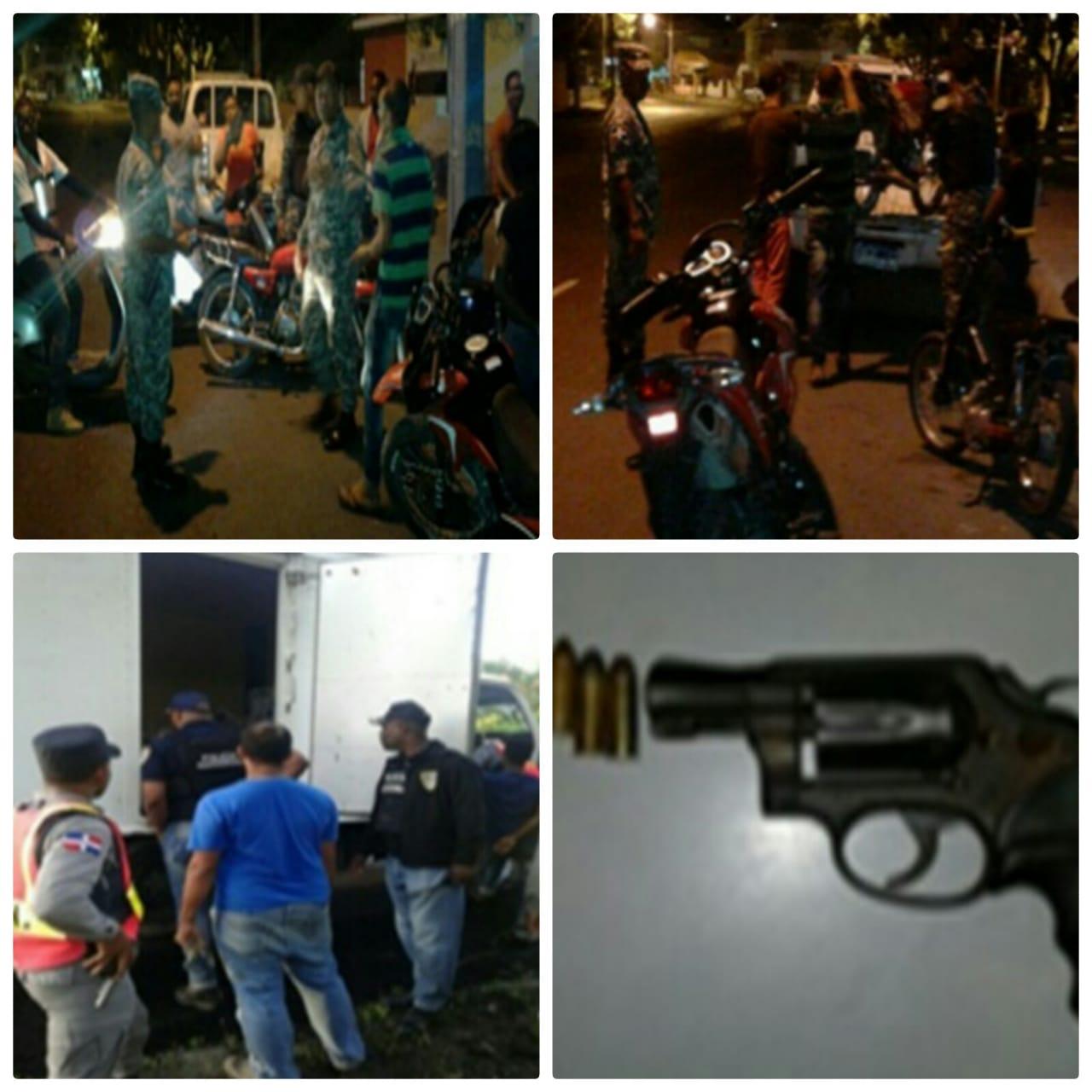 Policía Nacional realiza operativo mixto en San Pedro de Macorís