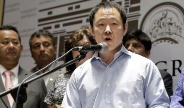 Informe legislativo recomienda destituir a Kenji Fujimori y dos partidarios