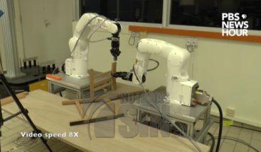 Conozca el robot que puede armar un mueble en 20 minutos